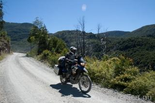 118 kilometer grusväg