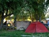 Camping med eluttag