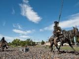 Don Quijote och Sancho Panza