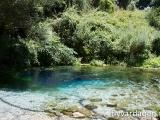 Blue Hole. En sötvattenkälla med gott och isklallt vatten
