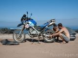Underhåll av motorcykeln