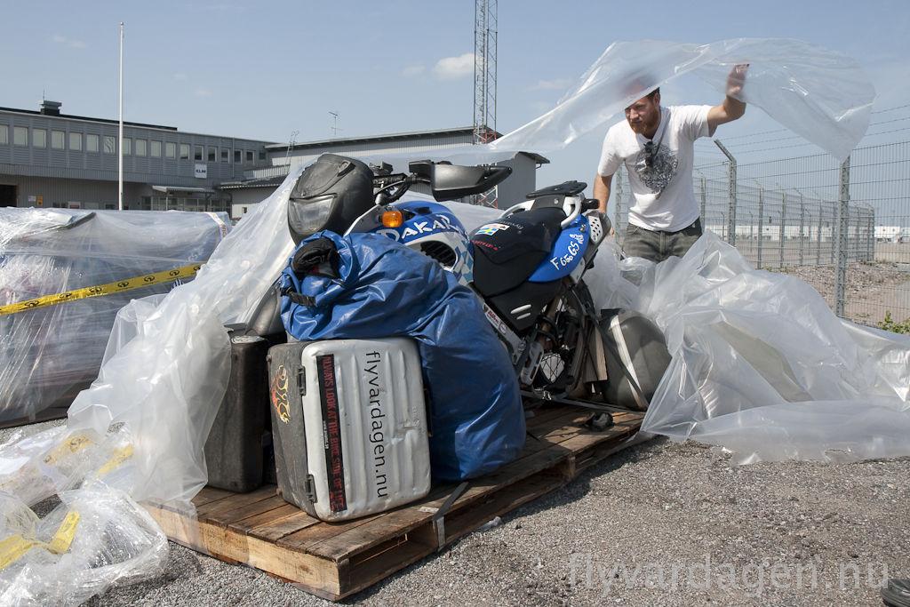 Paketöppning
