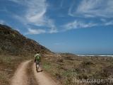 Promenad längs kusten