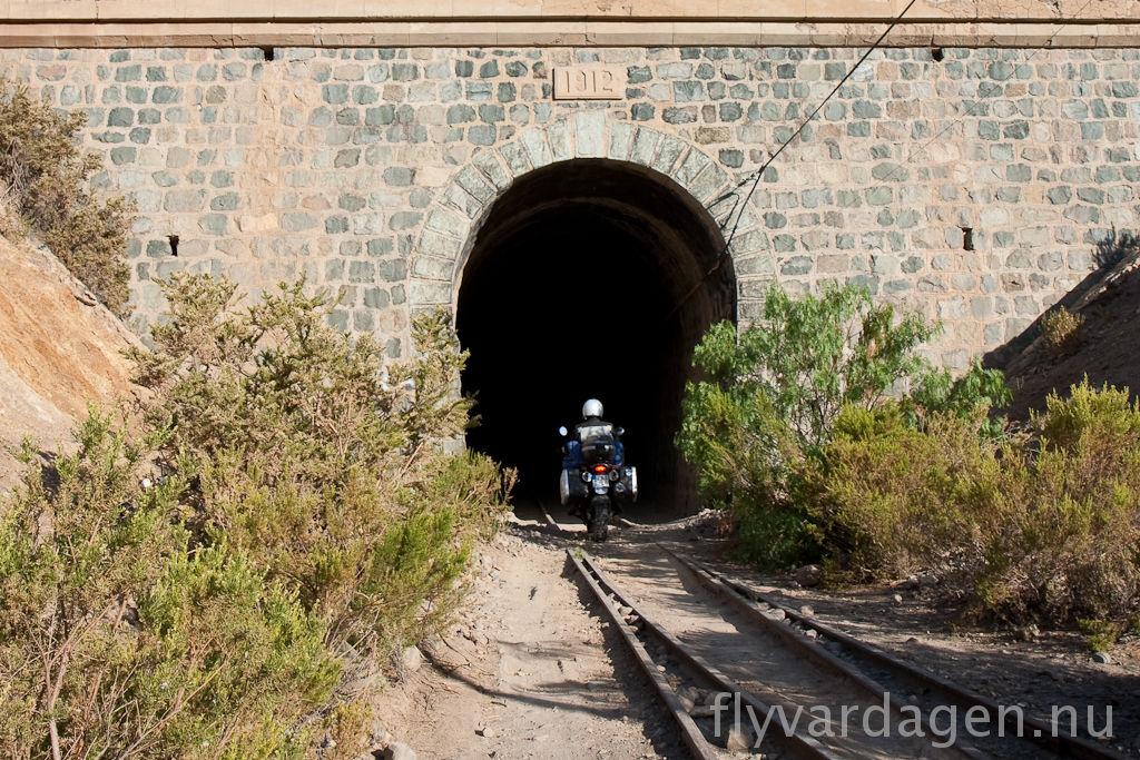 Körglädje i tunnel