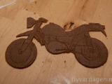 Pepparkaksmotorcykel