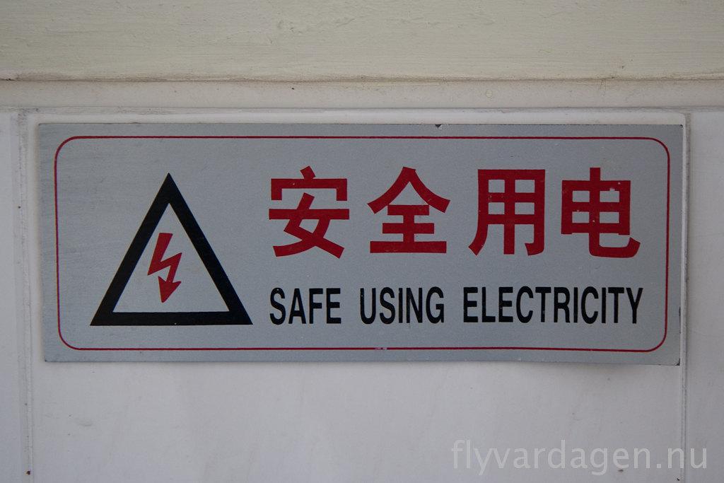 Säker el