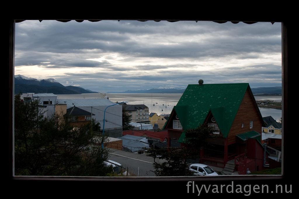 Ushuaia från vårt hostel