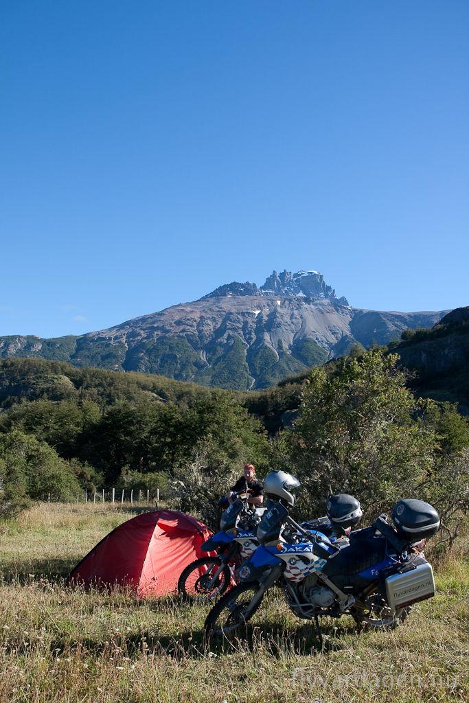 Cerro Castillo camping