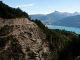 Mäktig bergsväg