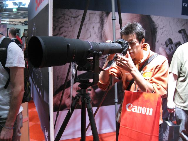 Roberto provskjuter 800mm zoom-objektiv