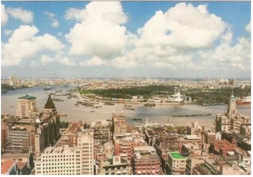 Shanghai för 15-20 år sedan