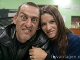 Galen Javier med fru