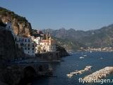 Amalfi-kusten, Italien.