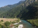Albanien påminner mycket om Patagonien i Chile. Vackert