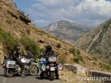 Inte mycket trafik och underbara vägar. Albanien!