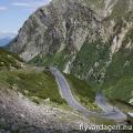 På vägen mot Stelvio Pass