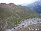 En del av Stelvio Pass, 2500 m.ö.h
