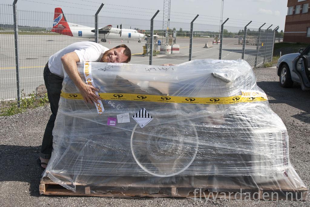 Efterlängtat paket