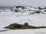 Nära en glaciär