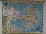 Peninsula Valdes karta